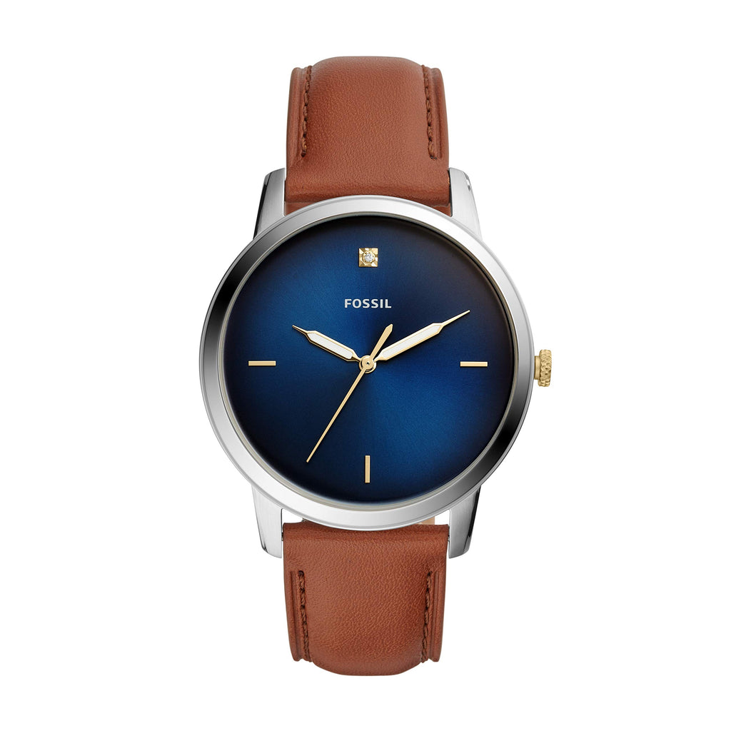 Fossil Minimalist Stainless Steel Mens Watch