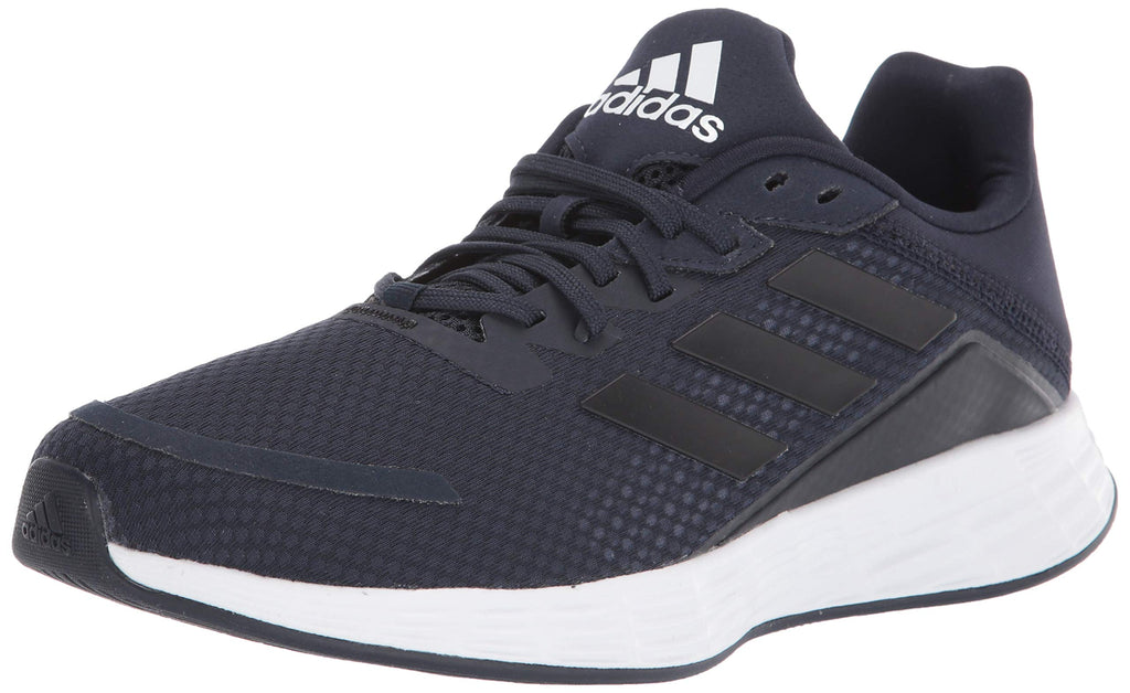 adidas Mens Duramo Superlite Running Shoe - Ink/Black/Indigo - 11.5