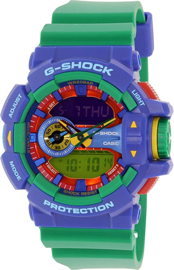 Casio G-Shock Analog-Digital Hyper Colors Unisex Watch