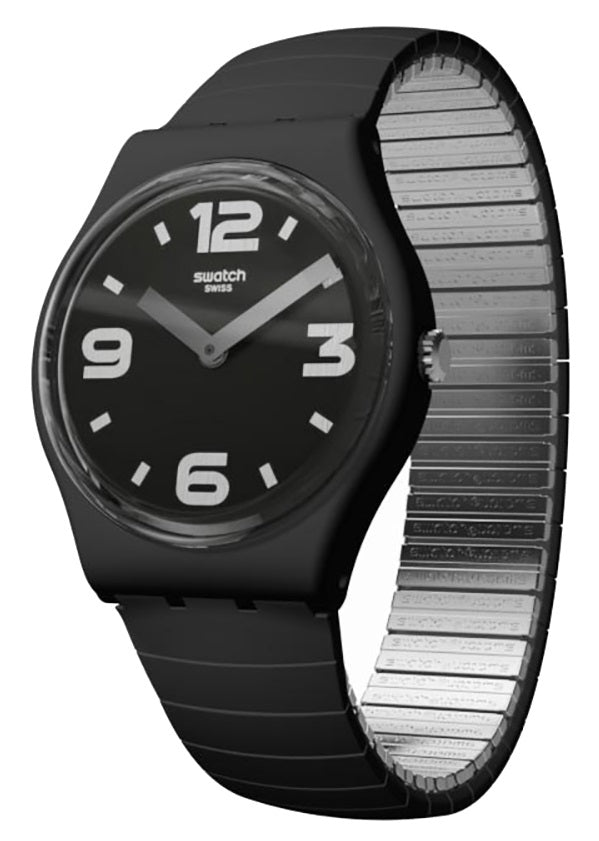 Swatch Blackhot Unisex Watch