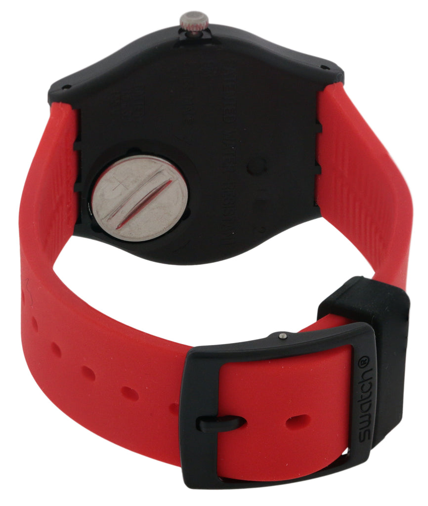Swatch RED GRIN Unisex Watch
