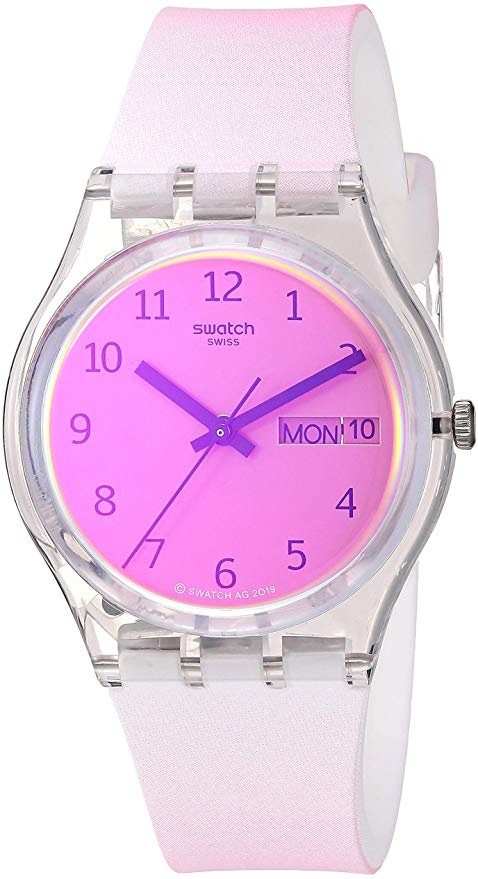 Swatch Ultrafushia Ladies Watch
