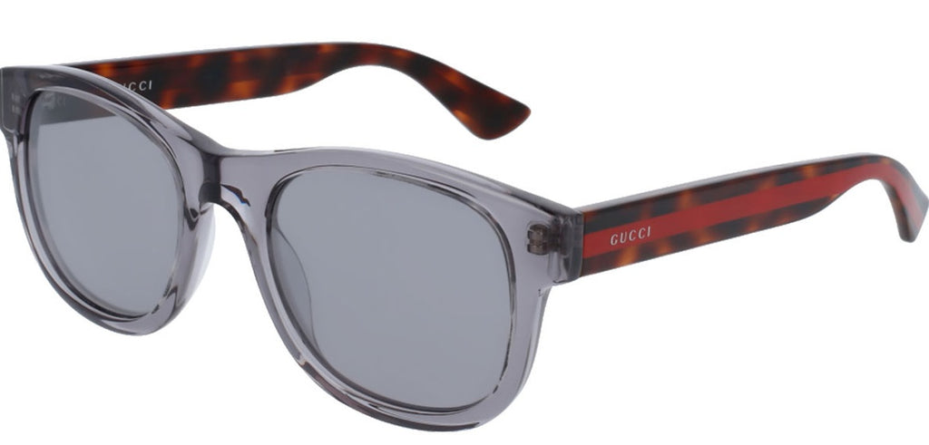 Gucci Anti-reflective Grey Square Mens Sunglasses -