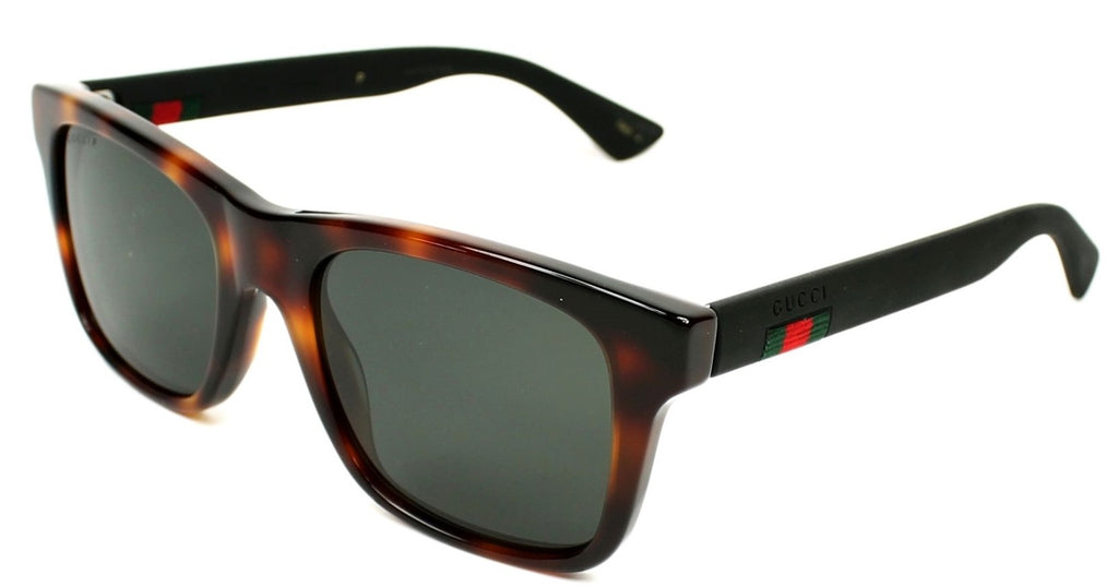 Gucci Havana Black Mens Sunglasses -