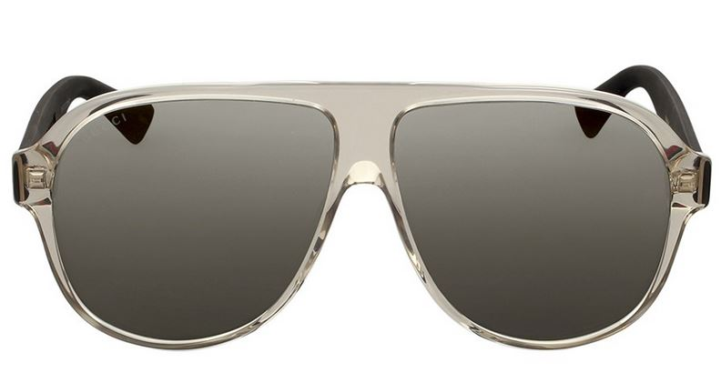 Gucci Translucent Aviator Sunglasses