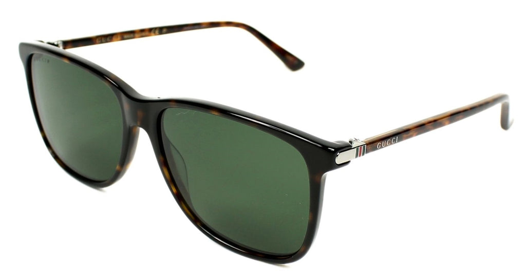 Gucci Havana Square Mens Sunglasses -