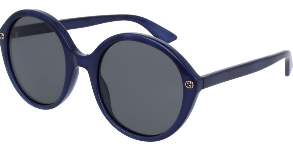 Gucci Round Blue Sunglass