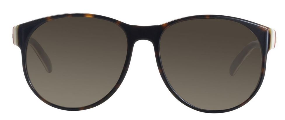 Gucci Havana Brown Ladies Sunglasses -