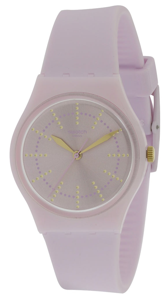 Swatch GUIMAUVE Silicone Unisex Watch