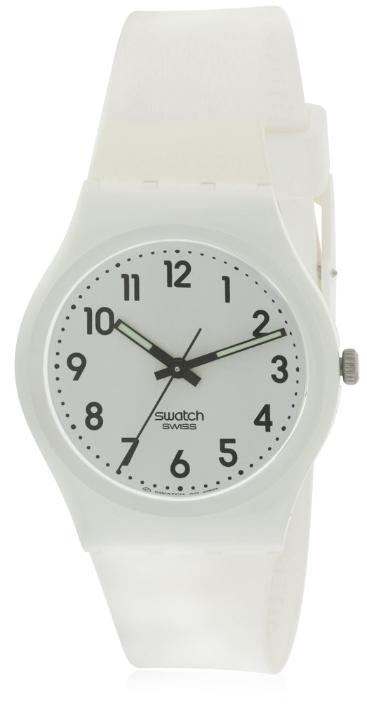 Swatch JUST WHITE SOFT Unisex Watch