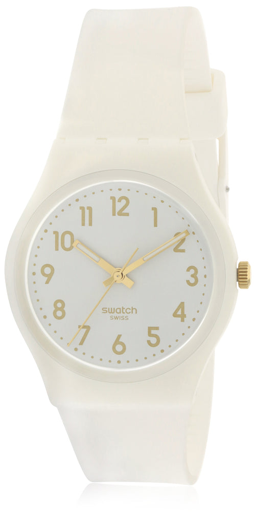 Swatch White Bishop Ladies Watch