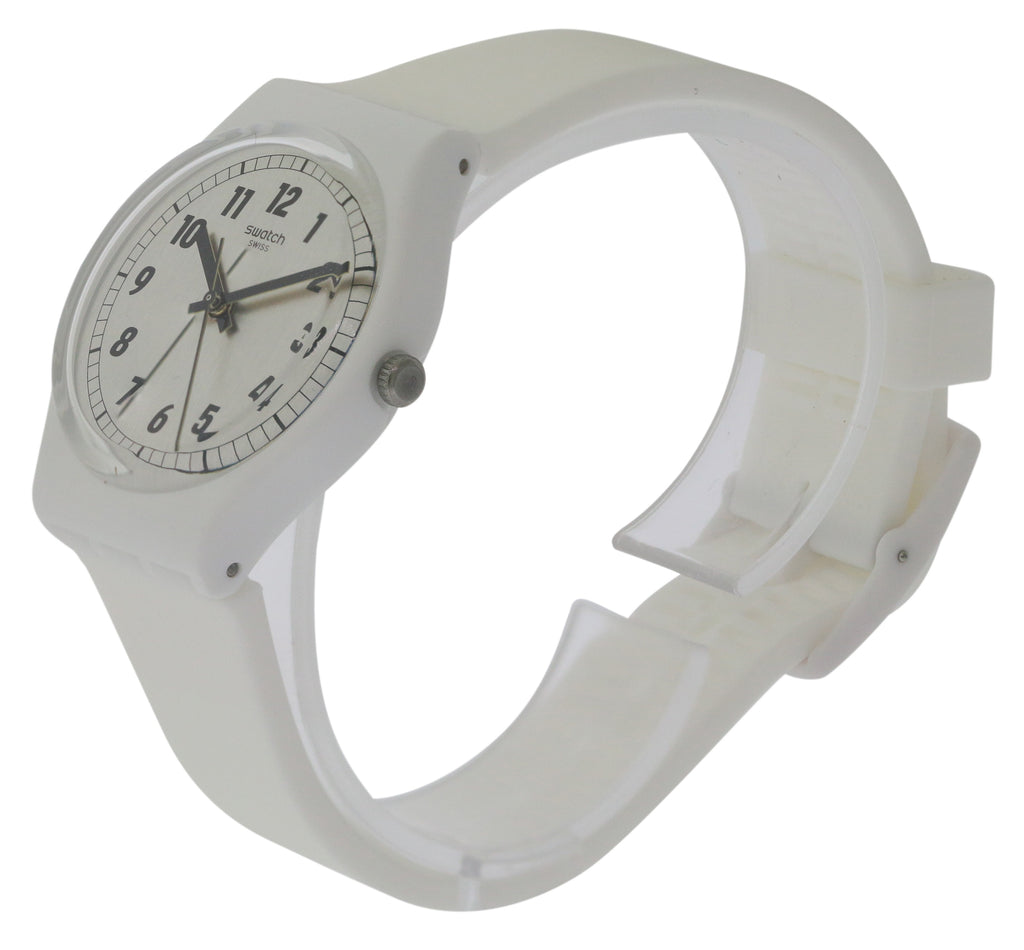 Swatch SOMETHING WHITE Ladies Watch