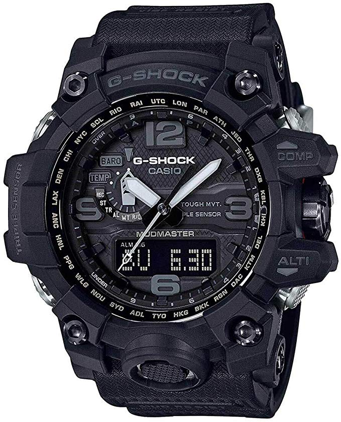Casio G-Shock Master of G Mudmaster Triple Sensor Mens Watch -