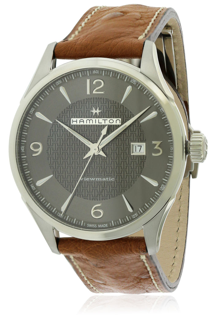 Hamilton Jazzmaster Leather Automatic Mens Watch