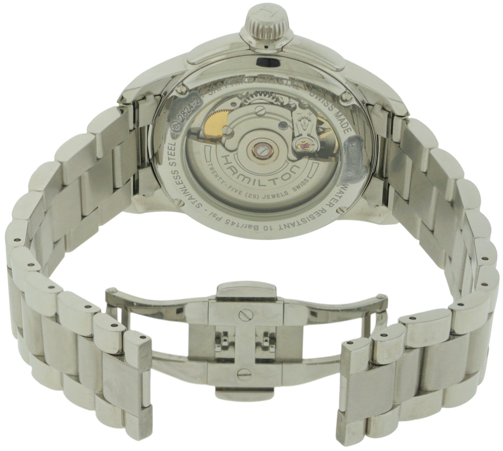 Hamilton Rail Road Stainless Steel Automatic Mens Watch