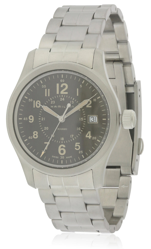 Hamilton Khaki Field Stainless Steel Mens Watch