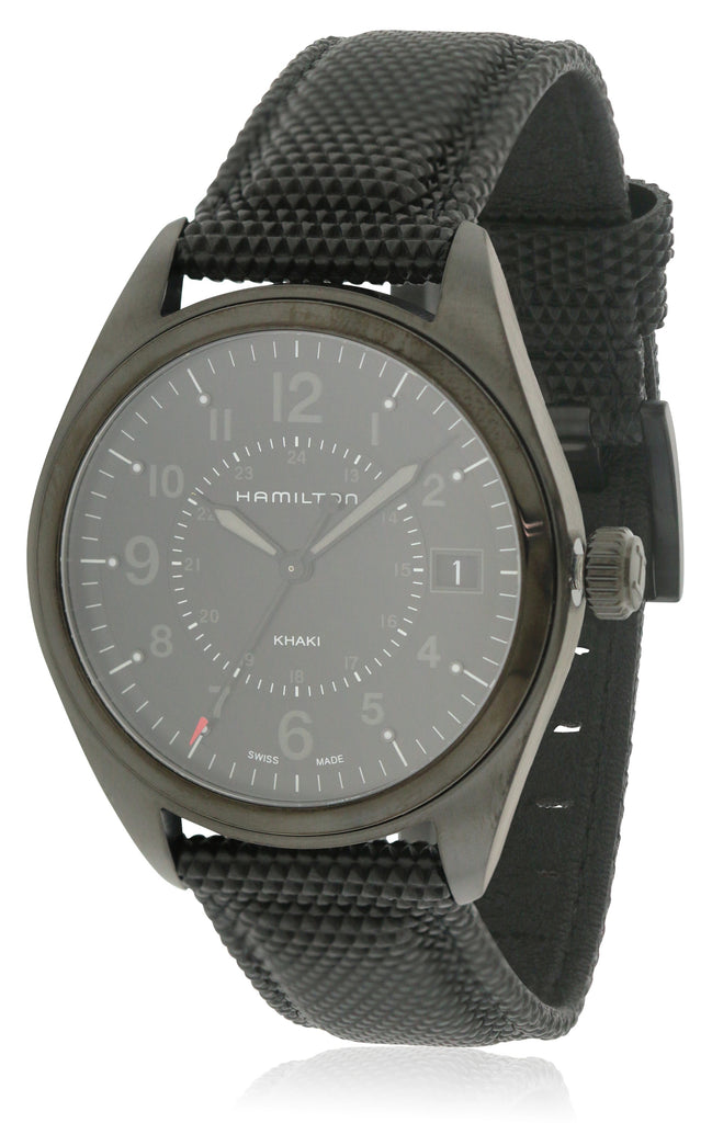 Hamilton Khaki Field Rubber Mens Watch