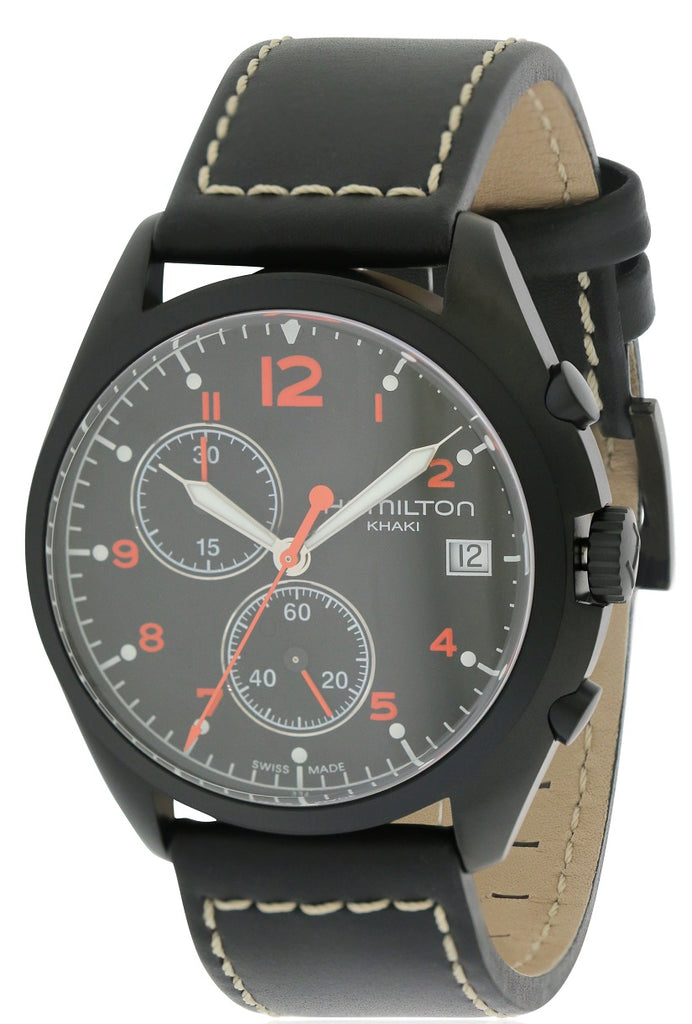 Hamilton Pilot Pioneer Chronograph Mens Watch