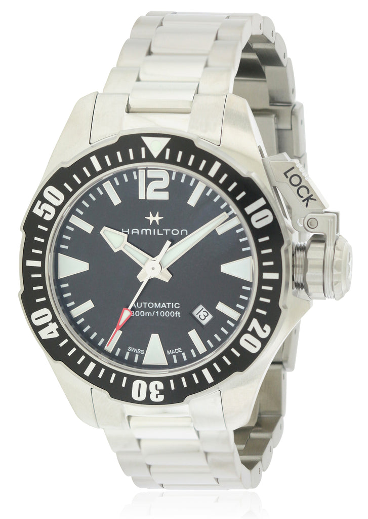 Hamilton Khaki Navy Frogman Automatic Mens Watch