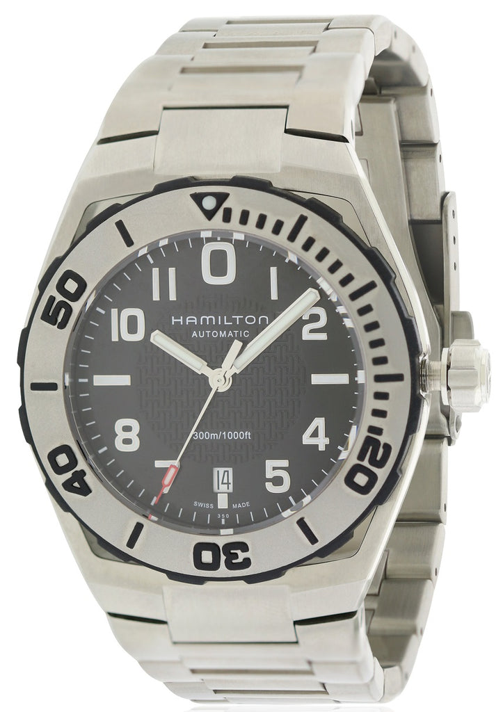 Hamilton Sub Auto Khaki Navy Mens Watch