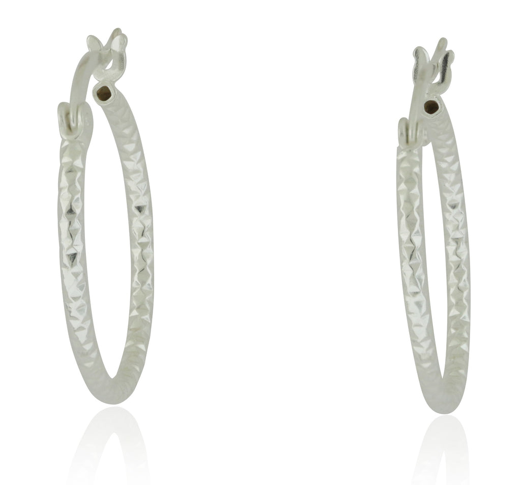 DC Hoop Earrings -