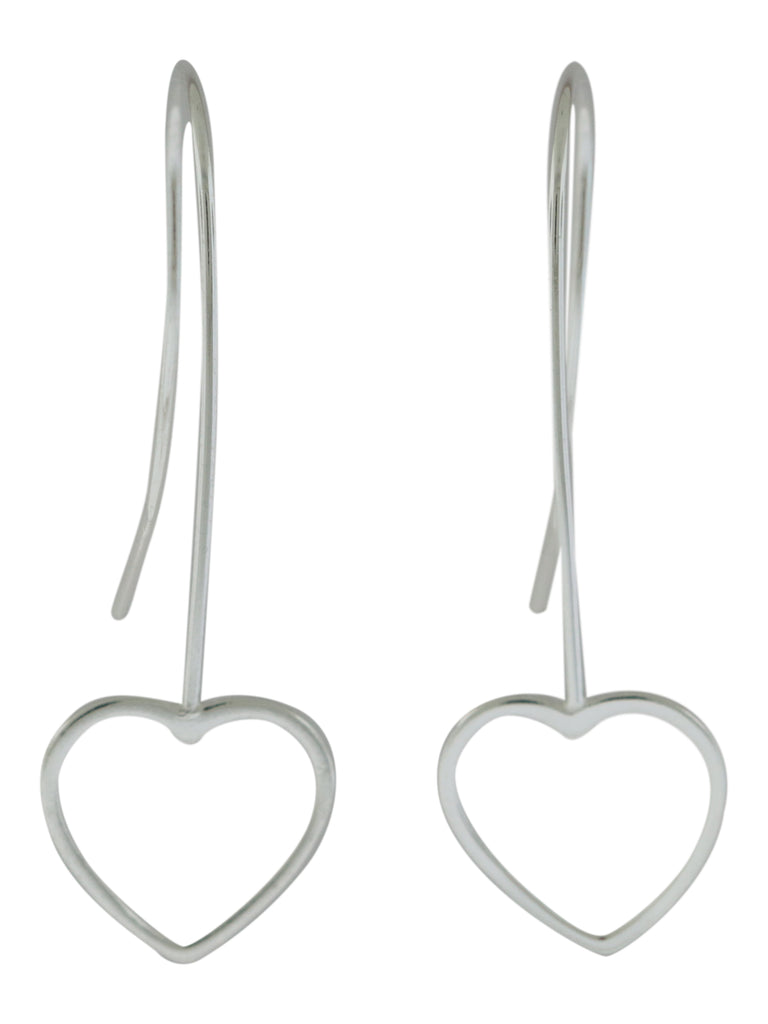 Hanging Heart Earrings -