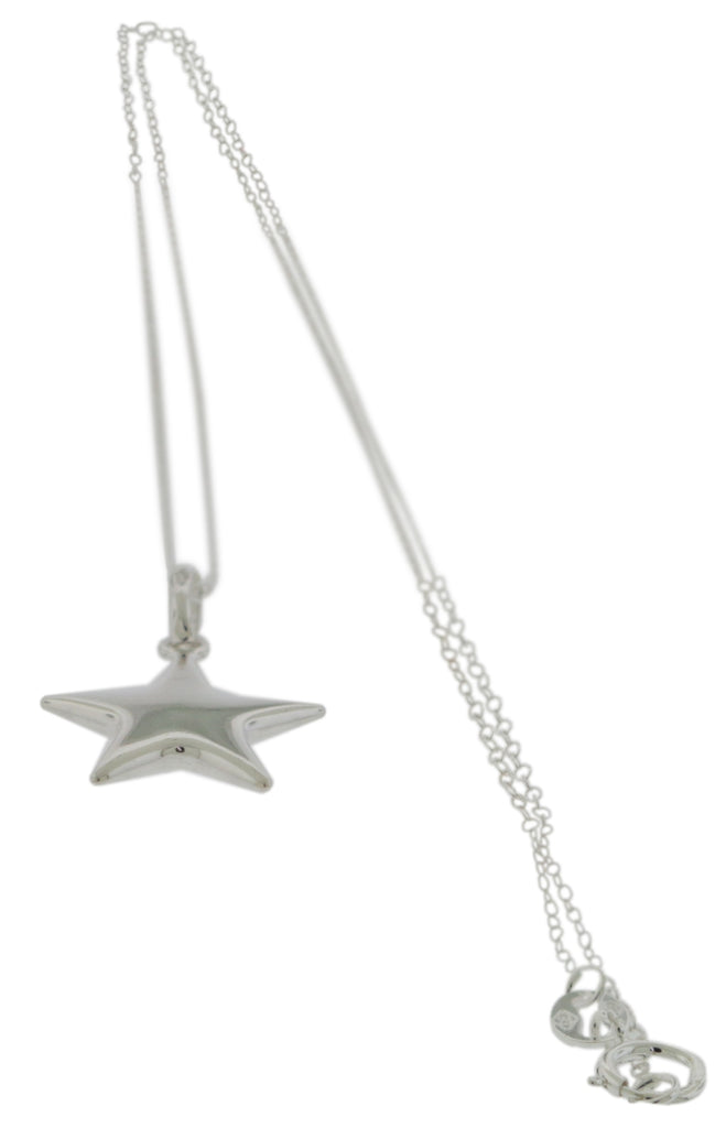 Sterling Silver Pendant with Chain -