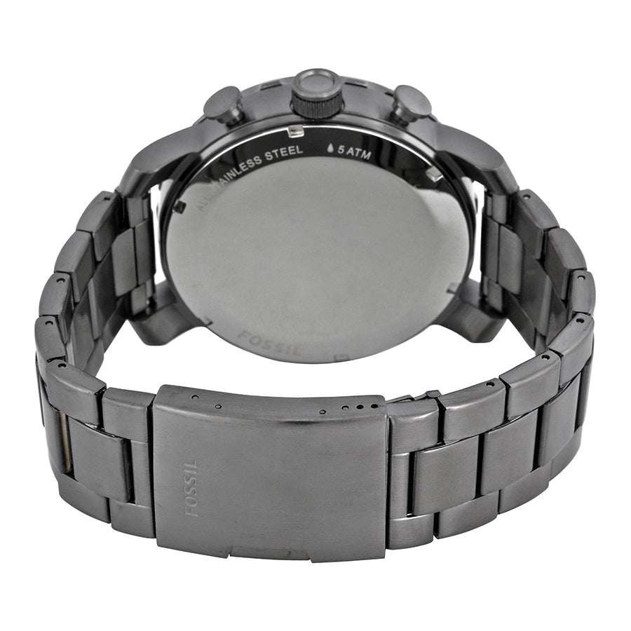 Fossil Nate Stainless Steel Chronograph Mens Watch