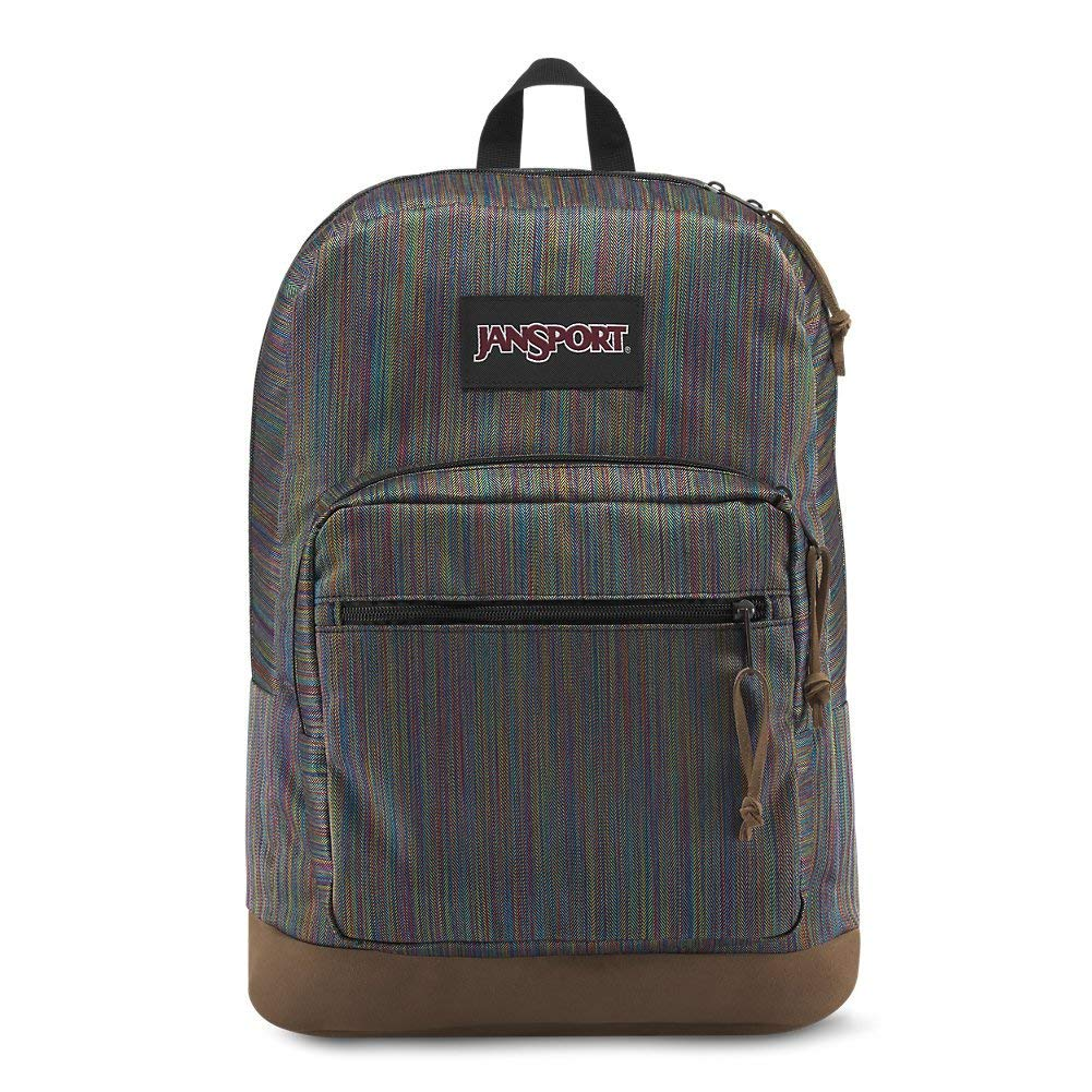 JanSport Right Pack Digital Edition Laptop Backpack - Multi Color Woven Stripe -