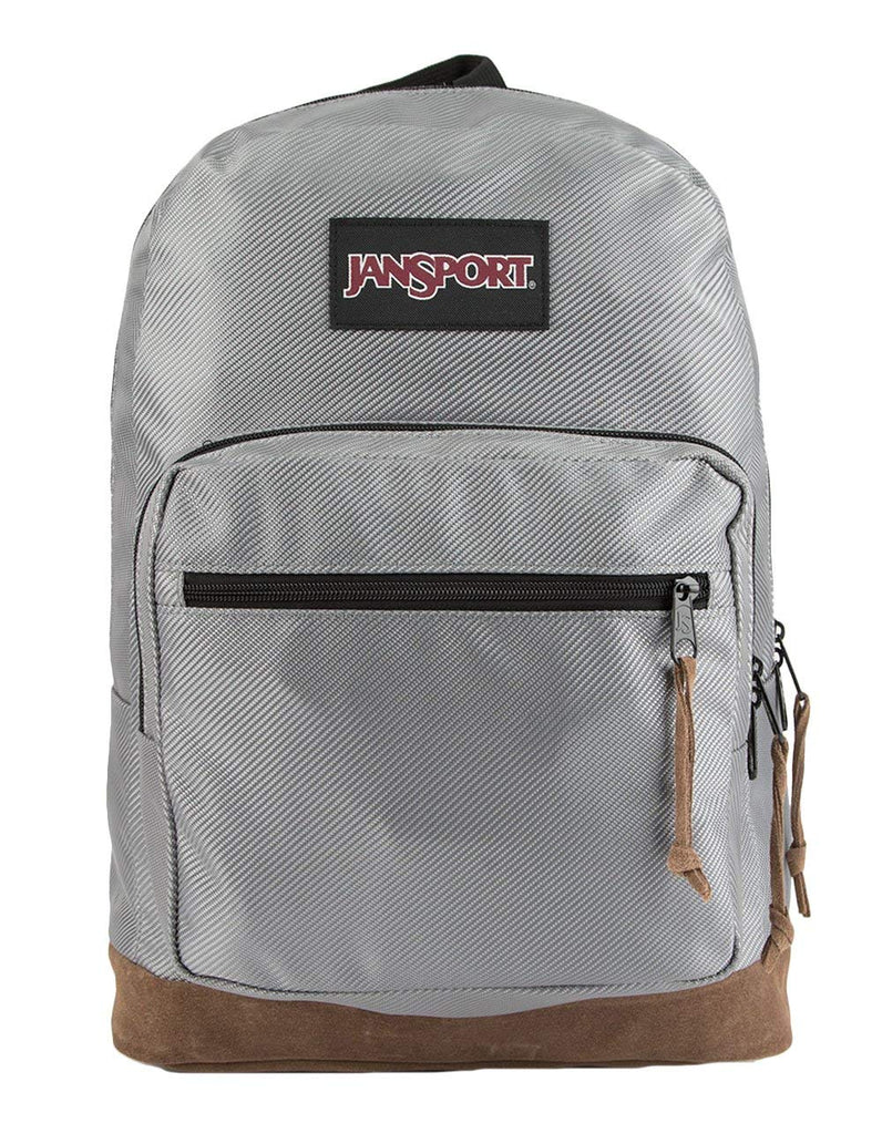 JanSport Right Pack Digital Edition Laptop Backpack - Silver Metallic Weave -