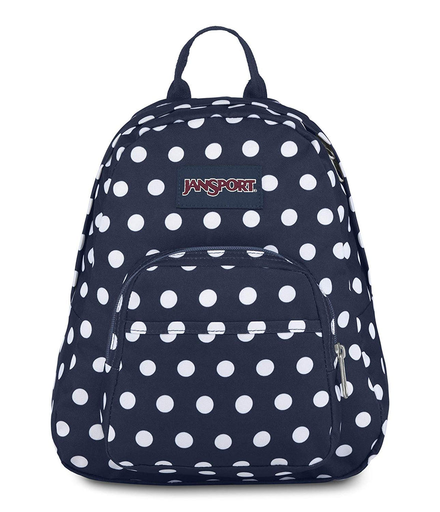 JanSport Half Pint Backpack - Denim/Polka Dot