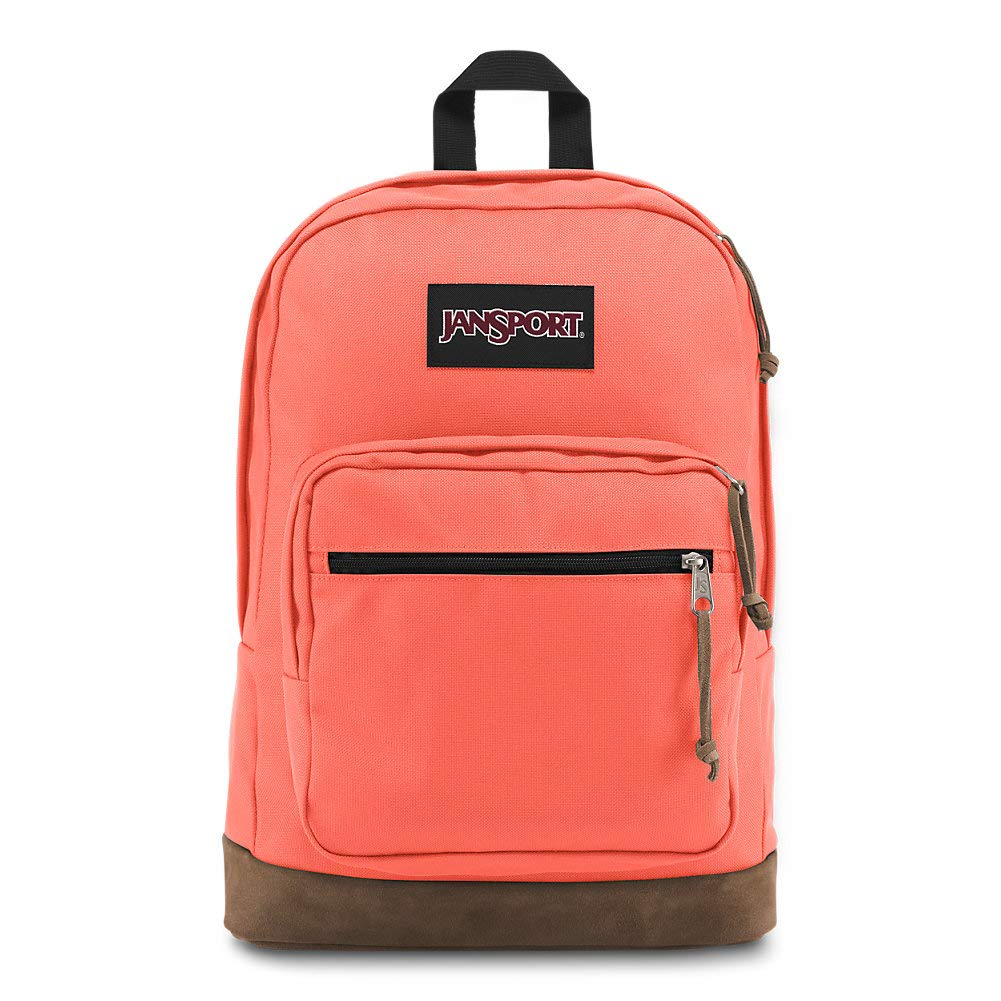 Jansport Right Pack Backpack Including 15 inch Laptop Sleeve - Orange Fade