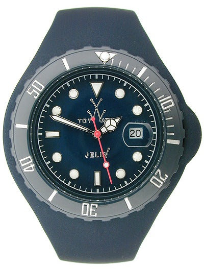 Toywatch Dark Blue Jelly Thorn Unisex Watch