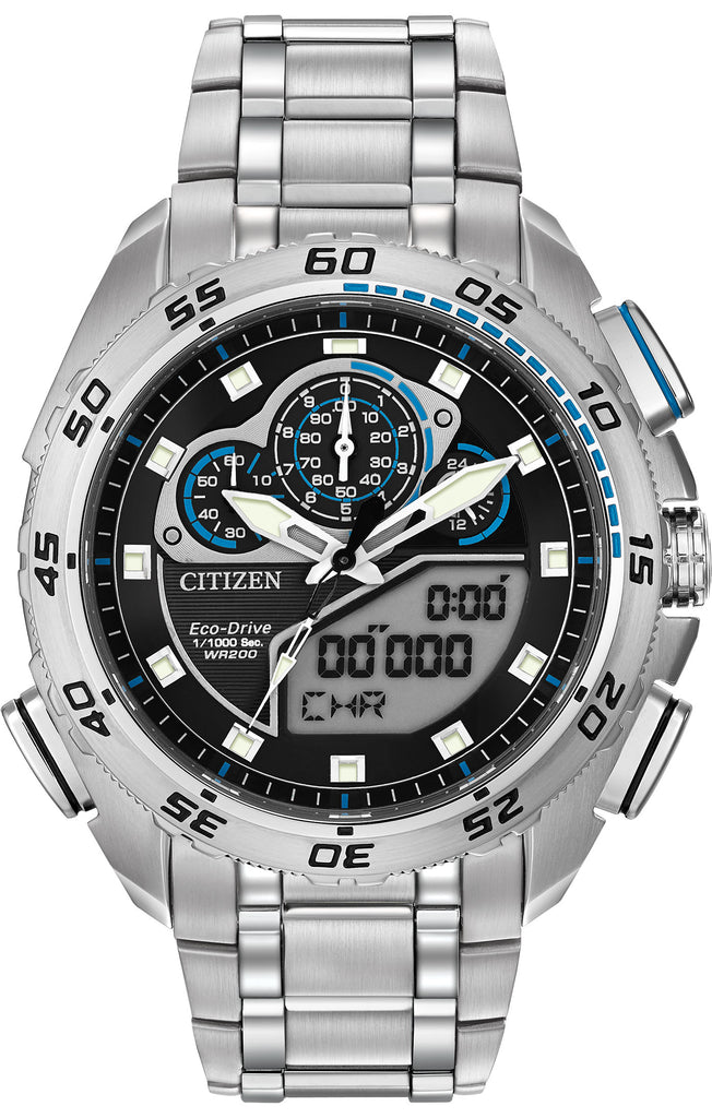 Citizen Eco-Drive Promaster Super Sport Chronograph Mens Watch