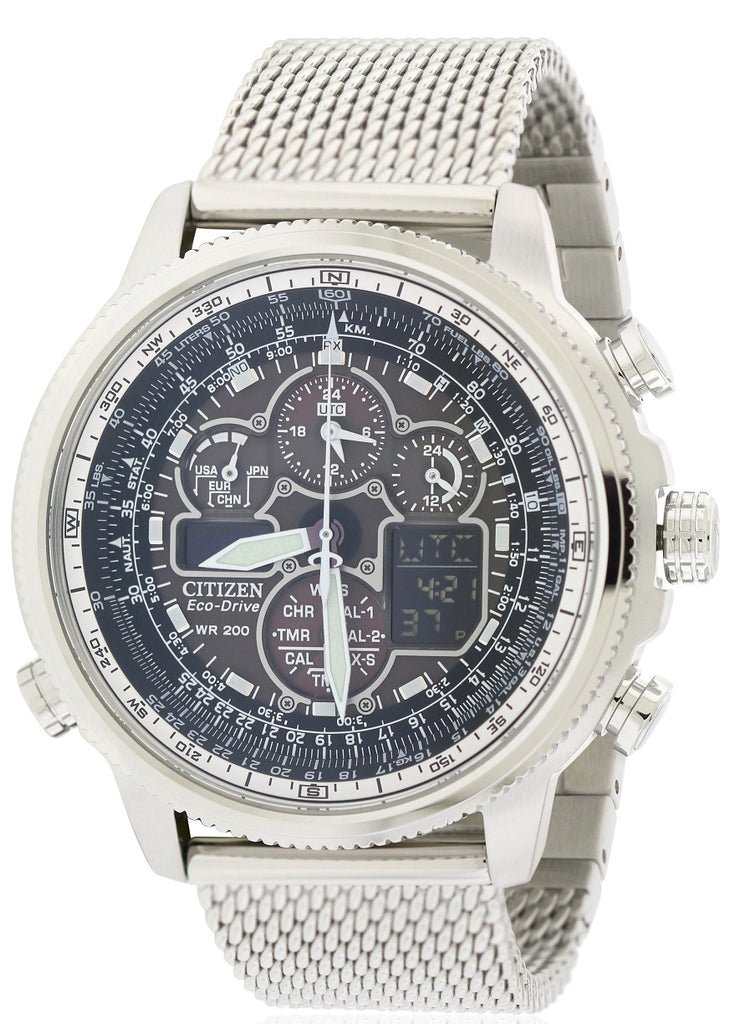 Citizen Navihawk A-T Chronograph Mens Watch