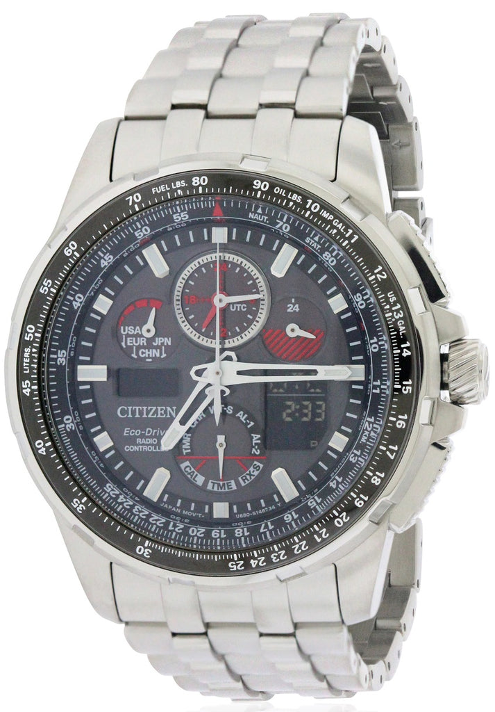 Citizen Eco-Drive Skyhawk A-T Chronograph Mens Watch