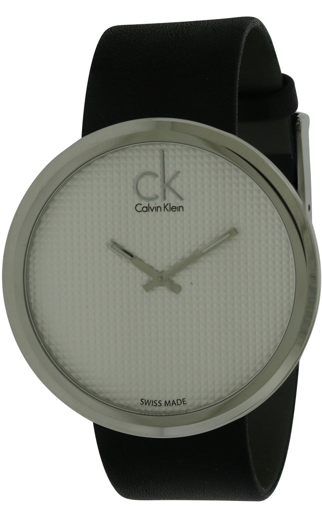 Calvin Klein Subtle Leather Ladies Watch