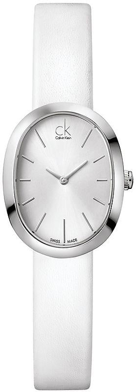 Calvin Klein ck Incentive Leather Ladies Watch