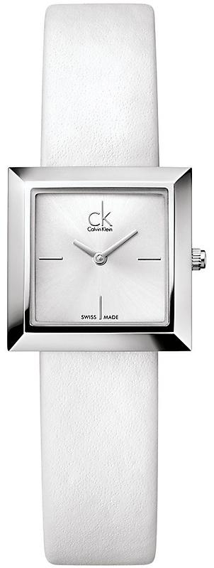 Calvin Klein ck Mark Leather Ladies Watch