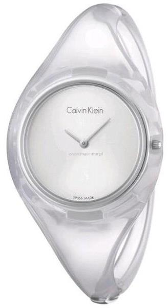 Calvin Klein Transparent Ladies Watch