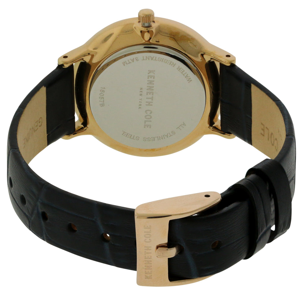 Kenneth Cole Leather Ladies Watch