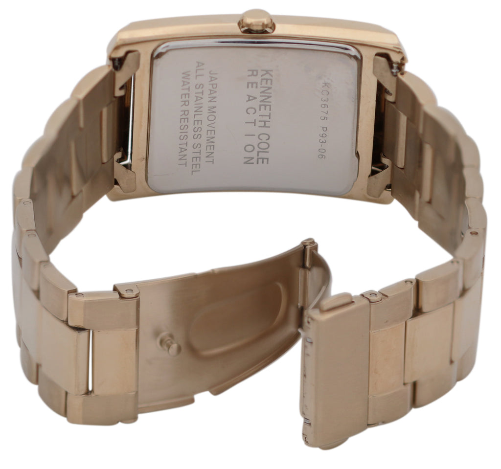 Kenneth Cole Gold-Tone Mens Watch
