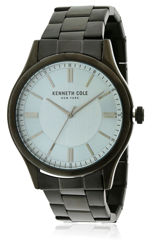 Kenneth Cole Black Stainless Steel Mens Watch