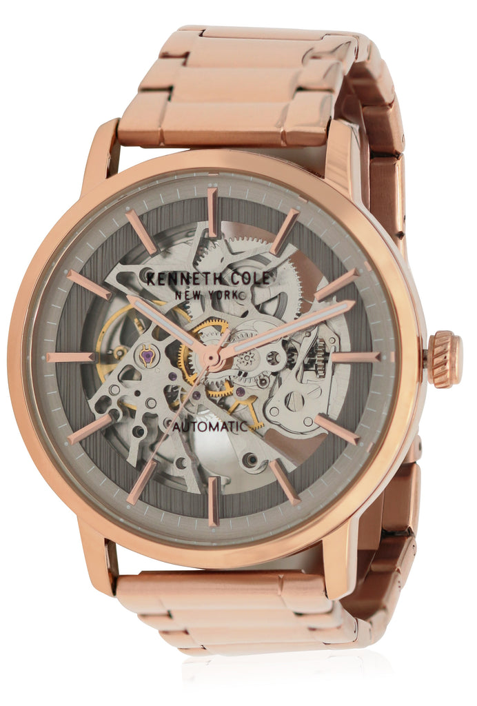 Kenneth Cole Rose Gold-Tone Mens Watch