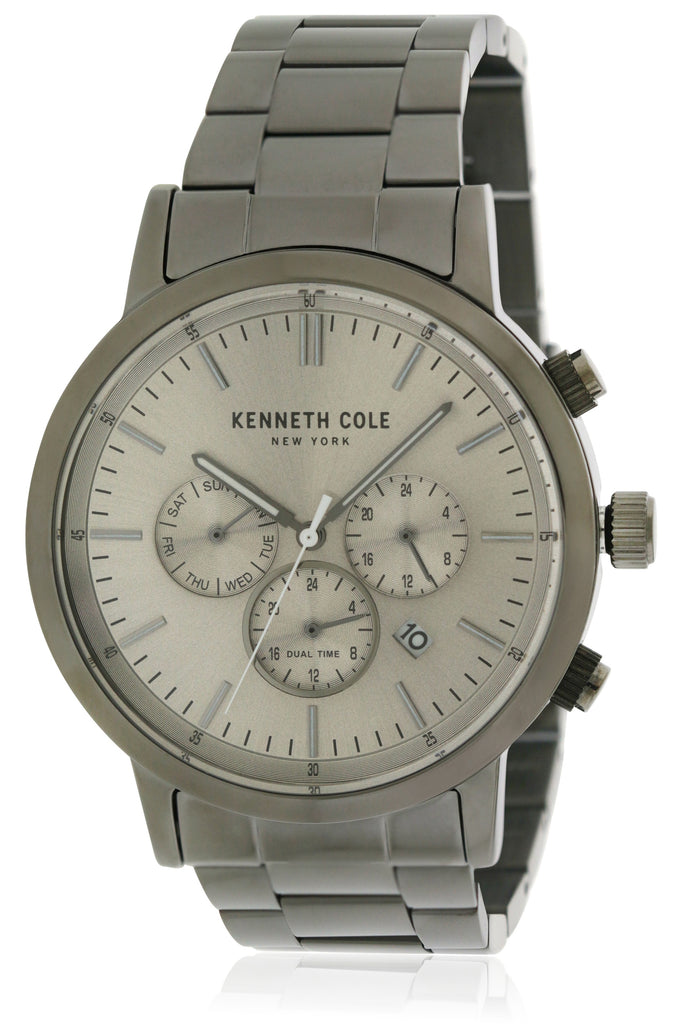 Kenneth Cole Stainless Steel Chronograph Mens Watch
