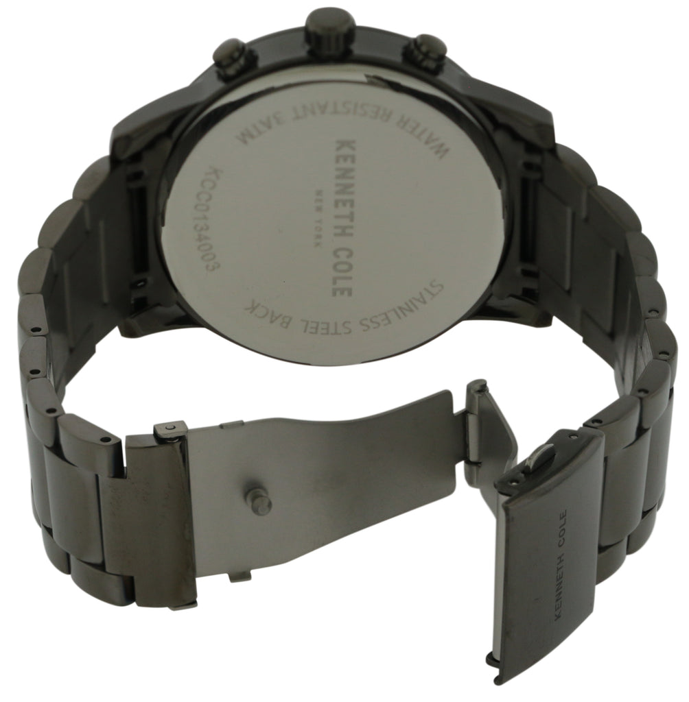 Kenneth Cole Gunmetal Chronogragh Mens Watch