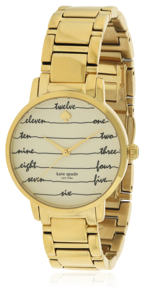 Kate Spade New York Gramercy Gold-Tone Ladies Watch
