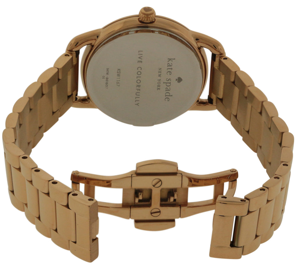Kate Spade Boathouse Rose Gold-Tone Ladies Watch