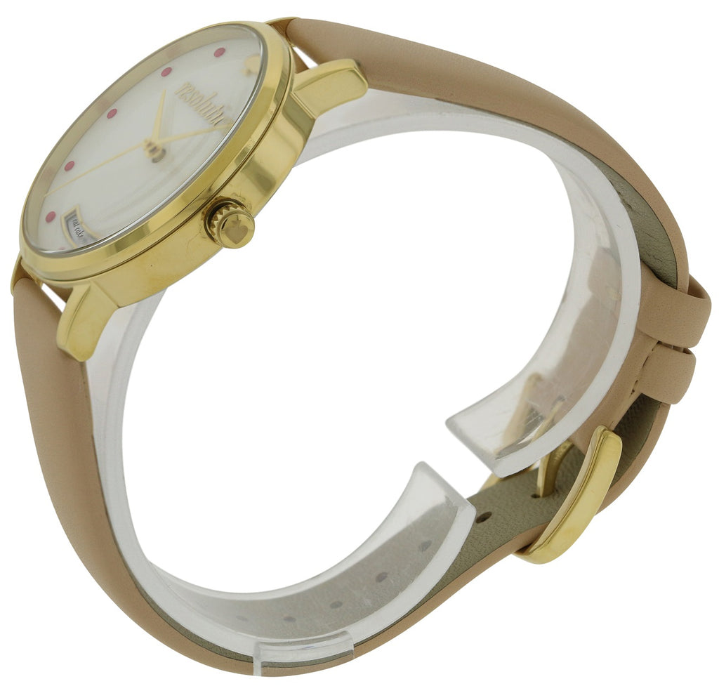 Kate Spade Metro Vachetta Leather Ladies Watch
