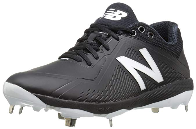 New Balance Mens 4040 V4 Metal Synthetic Baseball Cleats Matt Black - Size 11.5